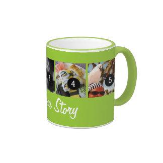 Cree sus los propios cuentan su historia 5images d taza a dos colores