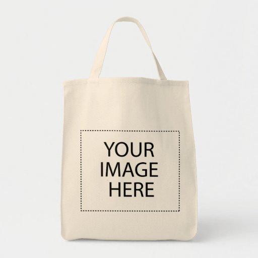 Cree sus los propios - diseñe sus propios regalos bolsa tela para la compra