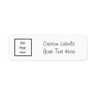 Cree sus los propios - espacio en blanco del etiquetas de remite
