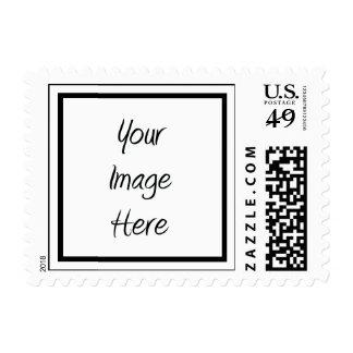 Cree sus los propios - espacio en blanco del sello