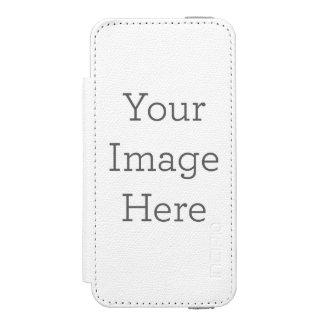 Cree sus los propios funda billetera para iPhone 5 watson