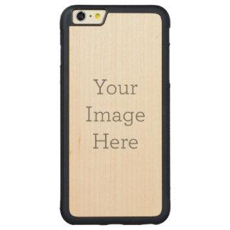 Cree sus los propios funda de arce bumper carved® para iPhone 6 plus