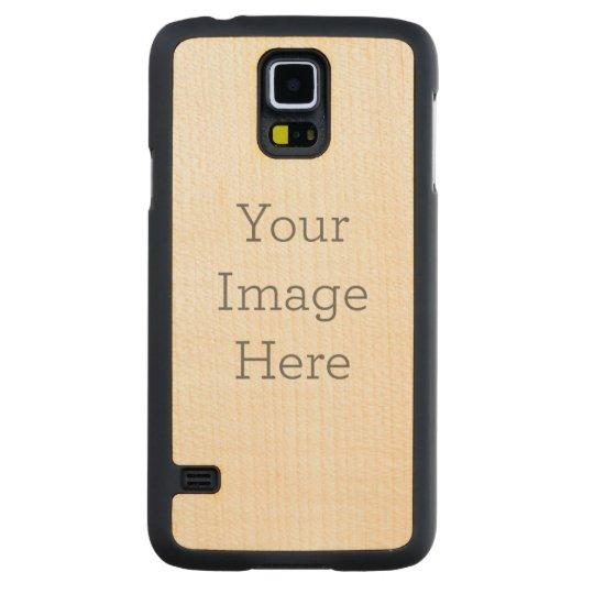 Funda de madera Samsung Galaxy S5 Funda de arce Slim