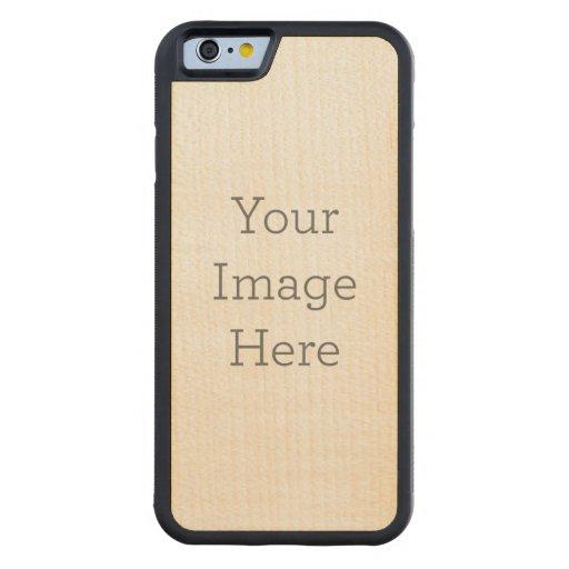 Funda de madera iPhone 6 Funda de arce Bumper