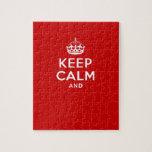 """Cree sus los propios """"guardan calma y continúan"""" r puzzles con fotos"""