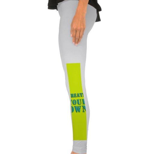 Cree sus los propios leggings