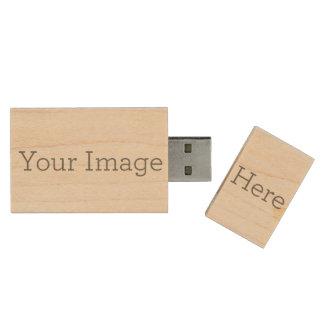Cree sus los propios pen drive de madera USB 2.0