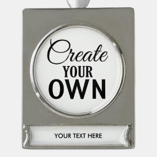 Cree sus los propios adornos personalizables