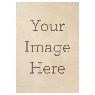 Cree sus los propios póster de madera