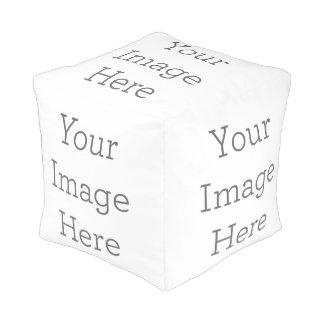 Cree sus los propios pouf cuadrado