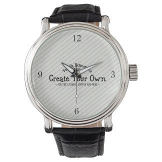 Cree sus los propios relojes de pulsera