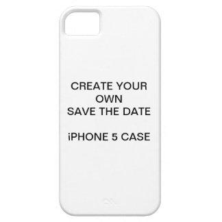 CREE SUS LOS PROPIOS RESERVA EL CASO del iPHONE 5 Funda Para iPhone 5 Barely There