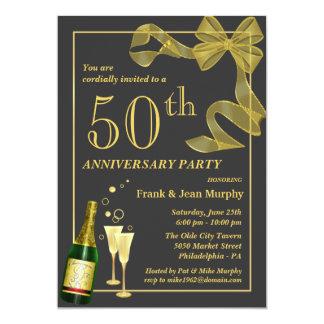 """Cree sus propias 50.as invitaciones de la fiesta invitación 5"""" x 7"""""""