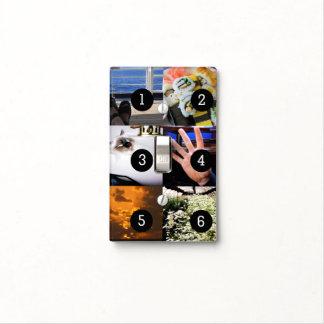 Cree sus propias imágenes de la decoración 6 de la placa para interruptor