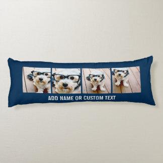 Cree sus propias imágenes de la marina de guerra 4 almohada de cuerpo entero