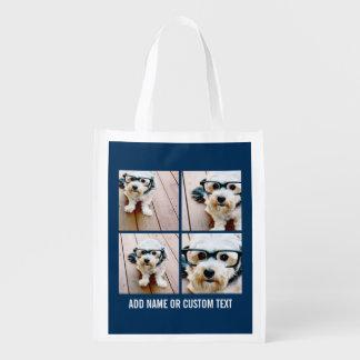 Cree sus propias imágenes de la marina de guerra 4 bolsas de la compra