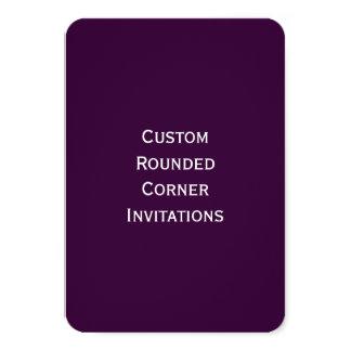 """Cree sus propias invitaciones de la esquina invitación 3.5"""" x 5"""""""