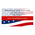 Cree sus propias tarjetas de visita patrióticas de