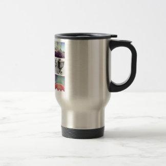 Cree sus propias tazas de café del viaje de
