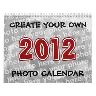 Cree sus propios calendarios 2012 de la foto
