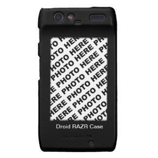 Cree sus propios casos 3 de Droid RAZR Motorola Droid RAZR Carcasas