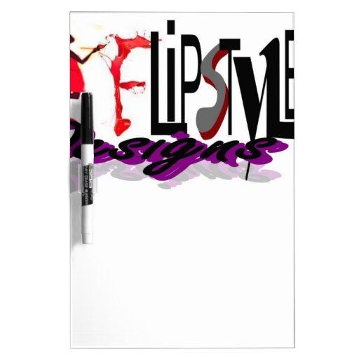 Cree sus propios productos en los diseños de Flips Pizarras Blancas