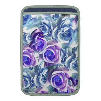 Cree sus propios regalos personalizados rosa azul funda  MacBook