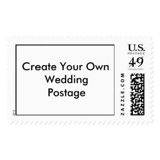 Cree sus propios sellos del boda de gran tamaño
