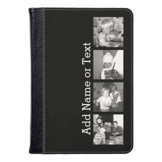 Cree un collage con 4 fotos - negro de Instagram