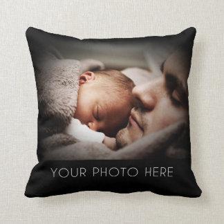 Cree un regalo de la foto de familia almohadas
