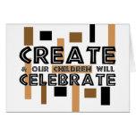Cree y nuestros niños celebrarán felicitación