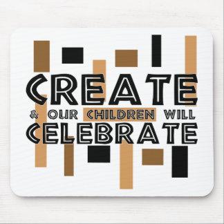 Cree y nuestros niños celebrarán alfombrillas de raton