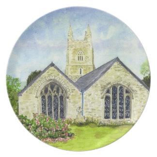 'Creed Church' Plate