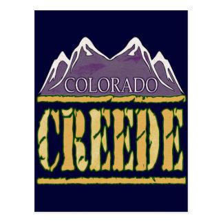 Creede, Colorado Postcard