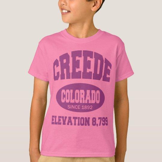 Creede, Colorado Since 1892 T-Shirt