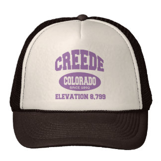 Creede, Colorado Since 1892 Trucker Hat