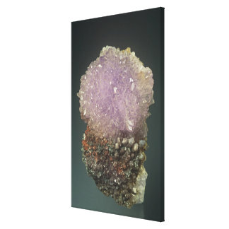 Creedite crystals, Chihuahua, Mexico Canvas Print