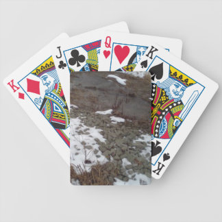 creek and rocks bicycle playing cards