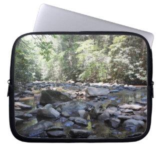 Creek and Rocks Laptop Computer Sleeve