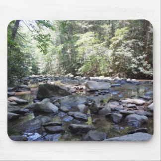 Creek and Rocks Mouse Pad