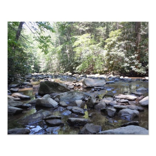 Creek and Rocks Photo Print