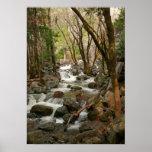 Creek At Bridal Veil Falls, Yosemite Poster