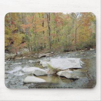 Creek at Chimney Rock in North Carolina Mouse Pad