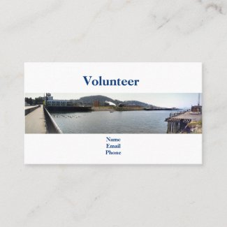 Creek Estuary Bay Volunteer Business Card