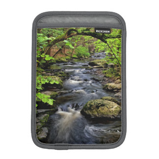 Creek flows through forest sleeve for iPad mini