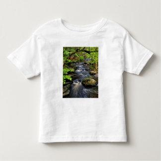 Creek flows through forest t-shirt