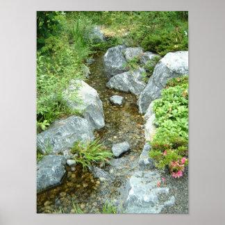 Creek in Japan Poster