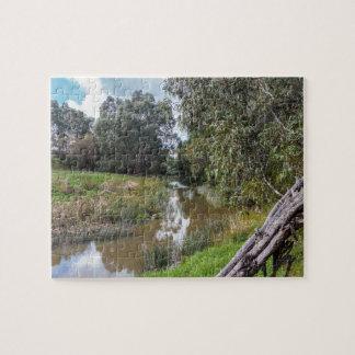 Creek in Melbourne Australia Jigsaw Puzzle
