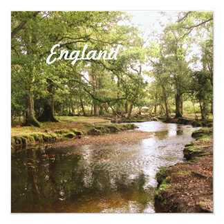 Creek in New Forest Personalized Invitation