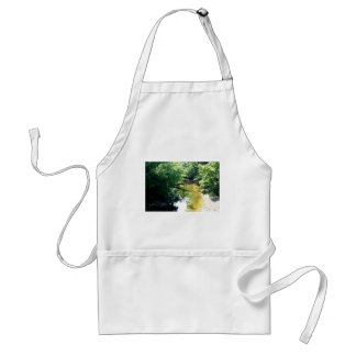 Creek in Summer Adult Apron